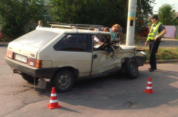 В Краматорске произошло ДТП с участием военных, фото-1