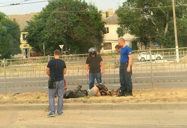 На проспекте Победы Симферополя сбили мотоциклиста (ФОТО), фото-2