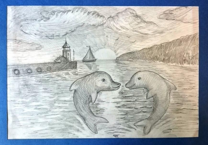«Дельфины Черного моря» Матвей Антонов