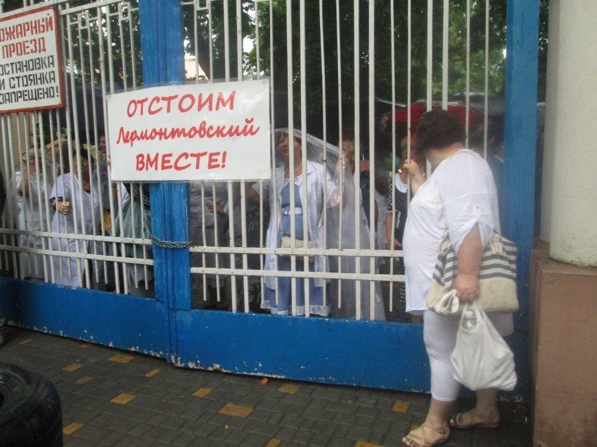 В Одессе снова пытаются захватить Лермонтовский санаторий (ФОТО, ВИДЕО), фото-2