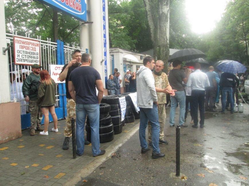 В Одессе снова пытаются захватить Лермонтовский санаторий (ФОТО, ВИДЕО), фото-3