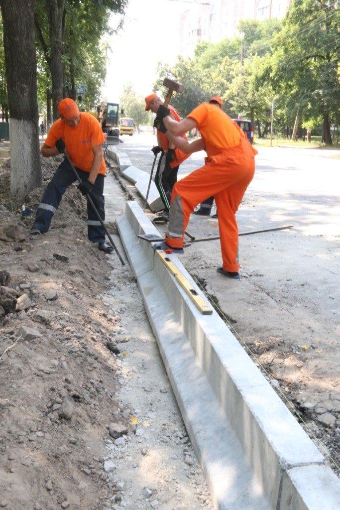 Гранитные бордюры с улицы Шевченко вернут на место, фото-7