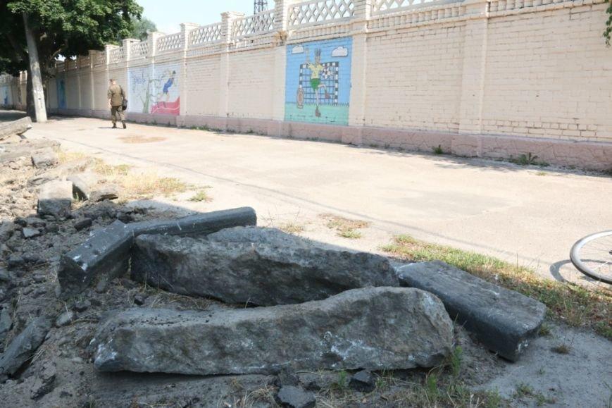 Гранитные бордюры с улицы Шевченко вернут на место, фото-12