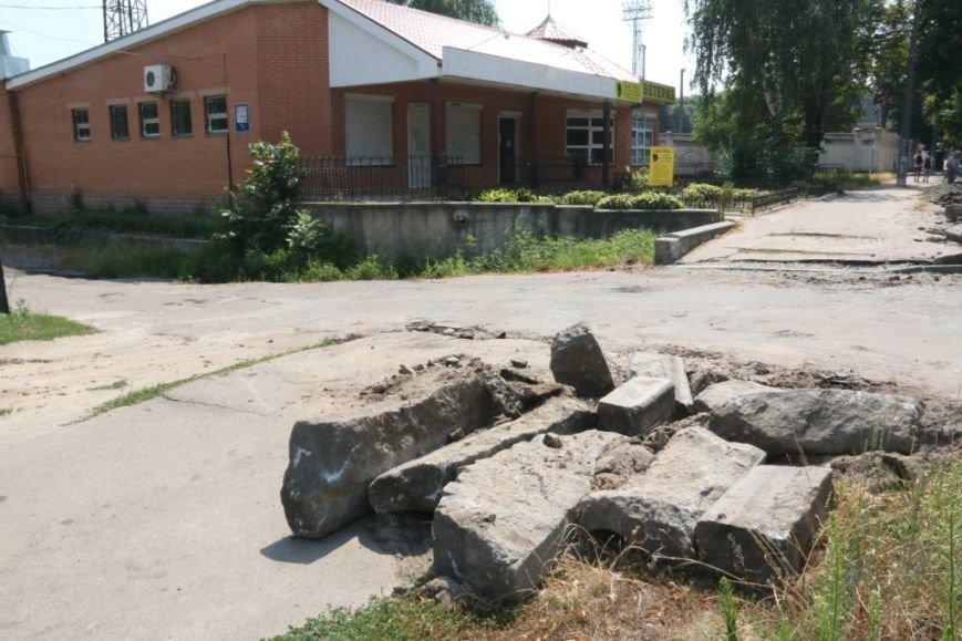 Гранитные бордюры с улицы Шевченко вернут на место, фото-11