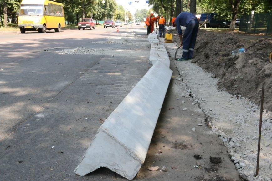 Гранитные бордюры с улицы Шевченко вернут на место, фото-5