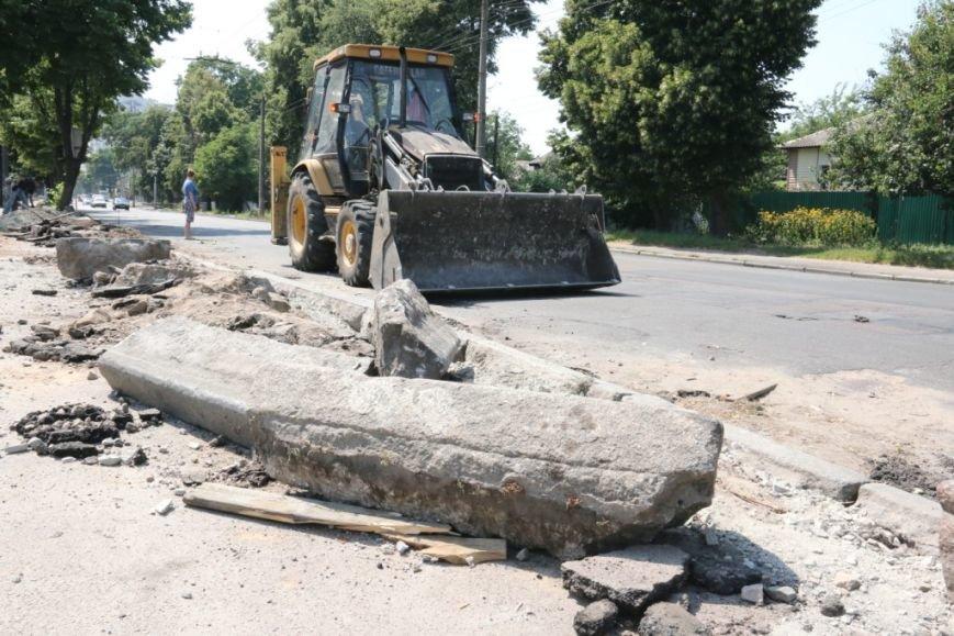Гранитные бордюры с улицы Шевченко вернут на место, фото-2