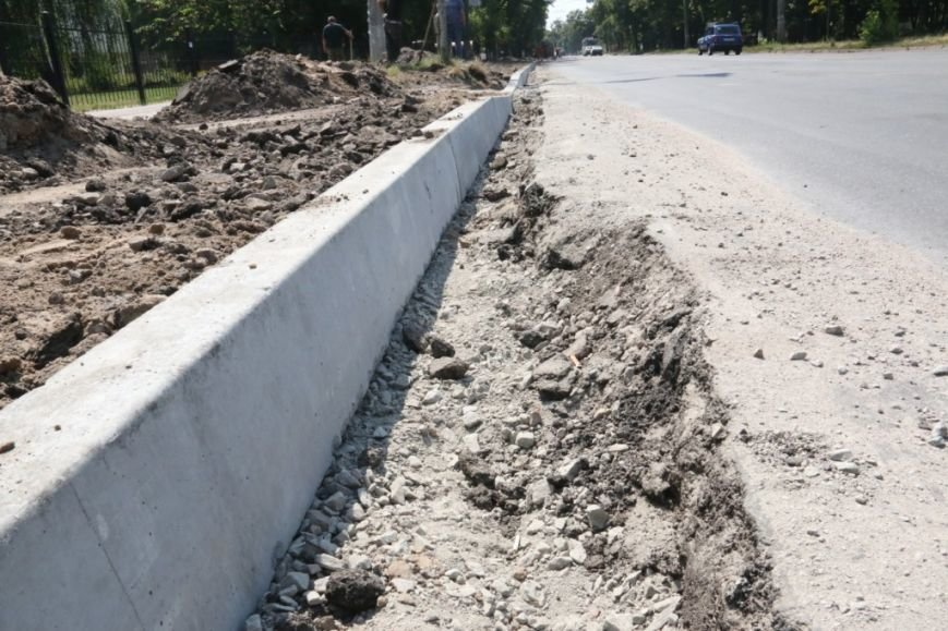Гранитные бордюры с улицы Шевченко вернут на место, фото-8