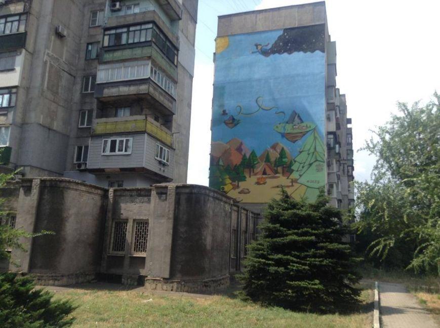 В Мариуполе дом с муралом хочет создать ОСМД (ФОТО, ВИДЕО), фото-2
