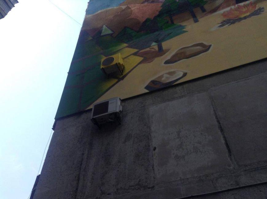 В Мариуполе дом с муралом хочет создать ОСМД (ФОТО, ВИДЕО), фото-4