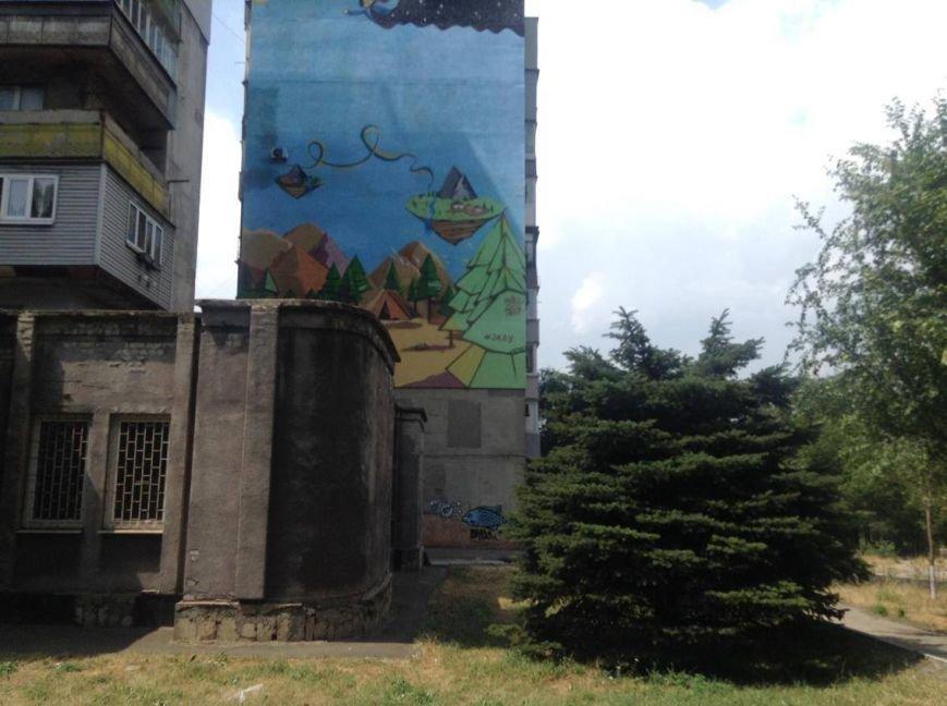 В Мариуполе дом с муралом хочет создать ОСМД (ФОТО, ВИДЕО), фото-1