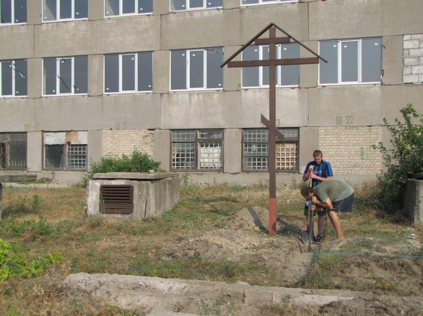 В Мелитополе начали строить новый православный храм (фото), фото-2