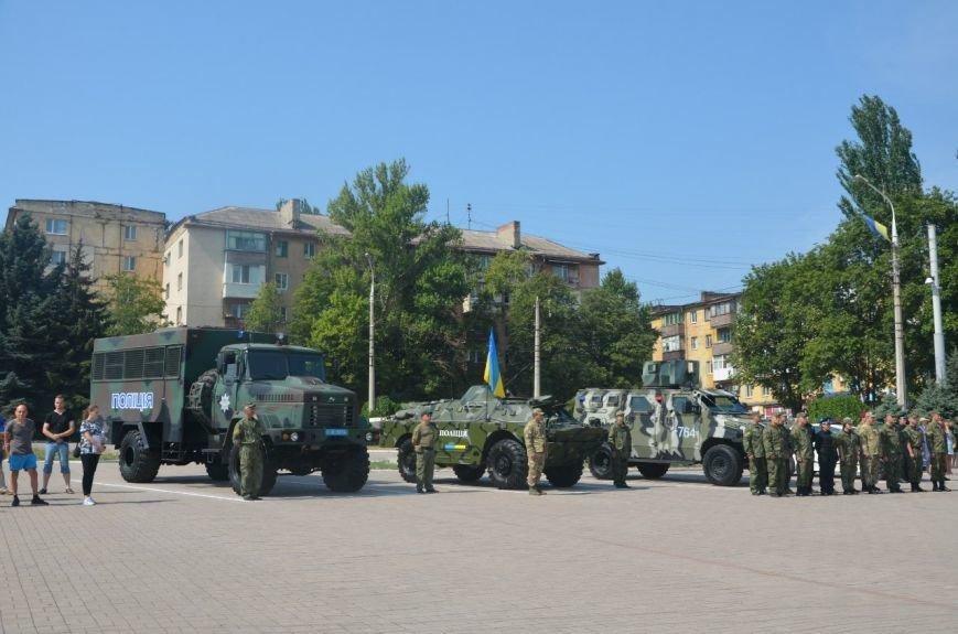 В Мариуполе отмечают первую годовщину Национальной полиции Украины (ФОТО+ВИДЕО), фото-11