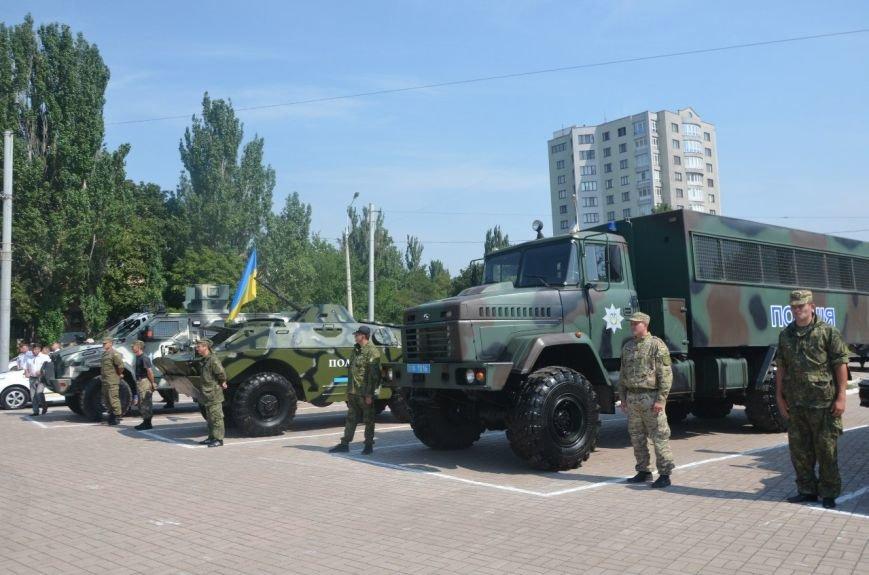 В Мариуполе отмечают первую годовщину Национальной полиции Украины (ФОТО+ВИДЕО), фото-23