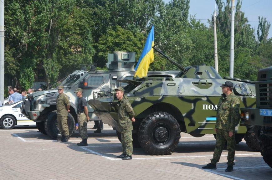 В Мариуполе отмечают первую годовщину Национальной полиции Украины (ФОТО+ВИДЕО), фото-3