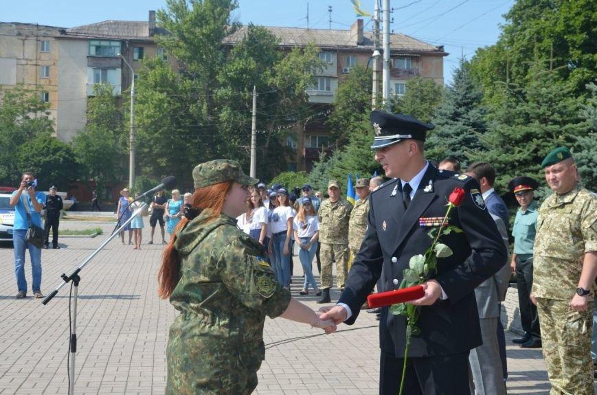 В Мариуполе отмечают первую годовщину Национальной полиции Украины (ФОТО+ВИДЕО), фото-12