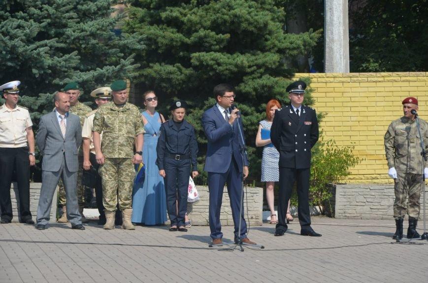 В Мариуполе отмечают первую годовщину Национальной полиции Украины (ФОТО+ВИДЕО), фото-7