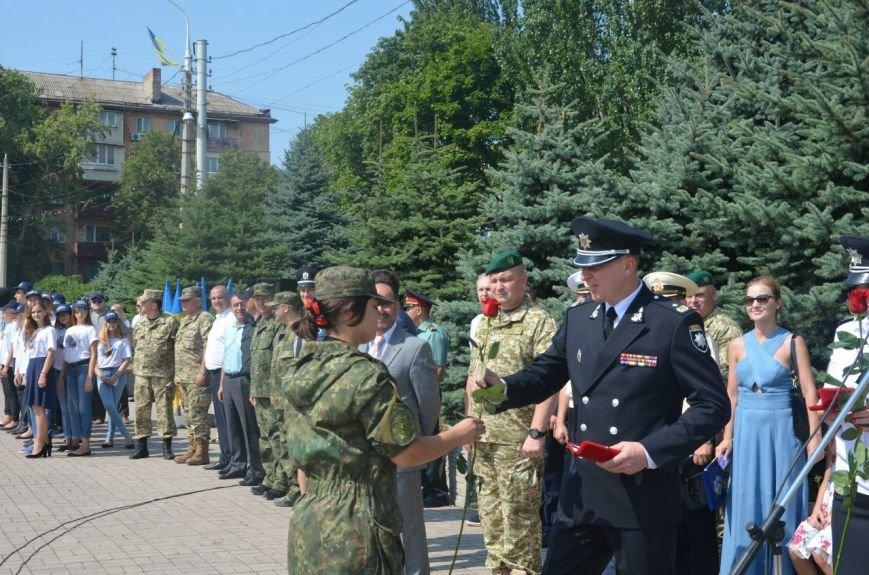 В Мариуполе отмечают первую годовщину Национальной полиции Украины (ФОТО+ВИДЕО), фото-19