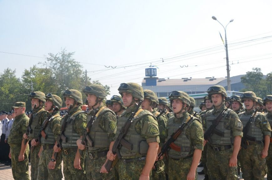 В Мариуполе отмечают первую годовщину Национальной полиции Украины (ФОТО+ВИДЕО), фото-15