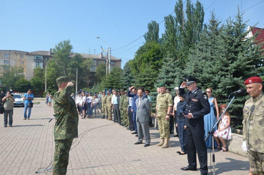 В Мариуполе отмечают первую годовщину Национальной полиции Украины (ФОТО+ВИДЕО), фото-17