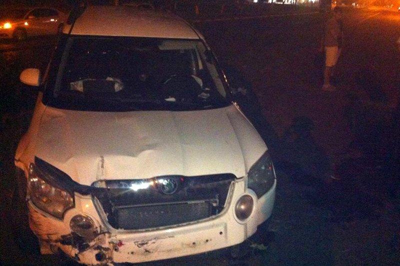 В Белгороде такси протаранило трактор, фото-2