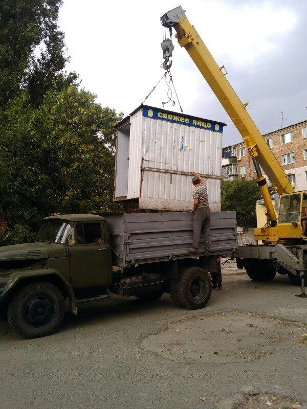 В Заводском районе демонтировали еще 5 рекламных конструкций (ФОТО), фото-1