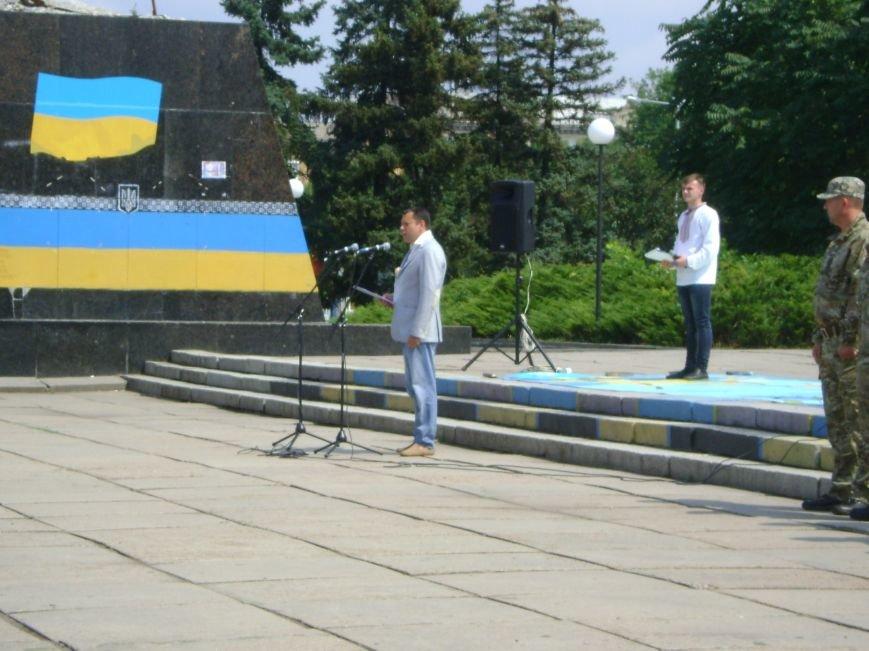 В Краматорске впервые торжественно  прошел День Национальной полиции, фото-5