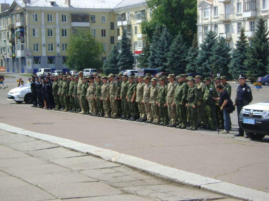 В Краматорске впервые торжественно  прошел День Национальной полиции, фото-1