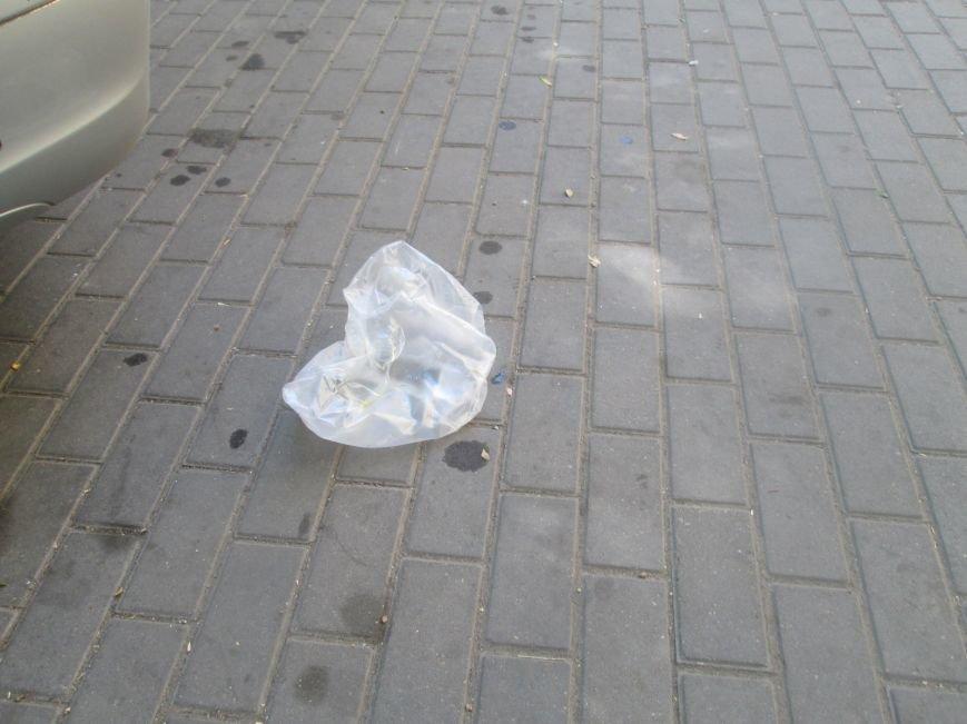В центре Одессы работники магазина устроили мусорную свалку (ФОТО), фото-3