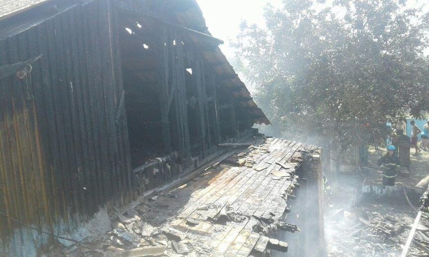 В Мариуполе на пожаре в бараке пострадал 55-летний местный житель  (ФОТО), фото-2