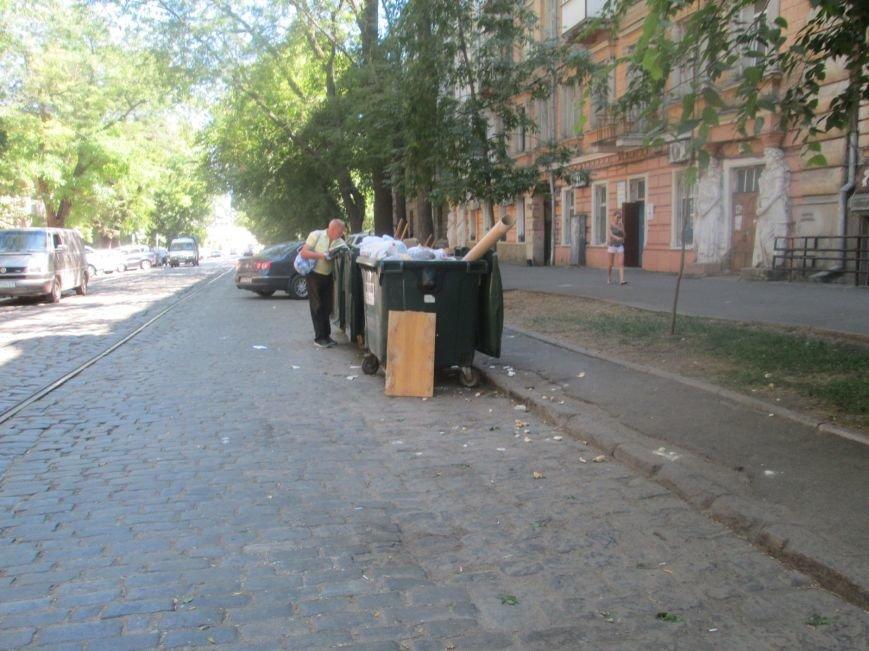 Одесская улица напомнит туристу вид мусорной свалки (ФОТО), фото-4