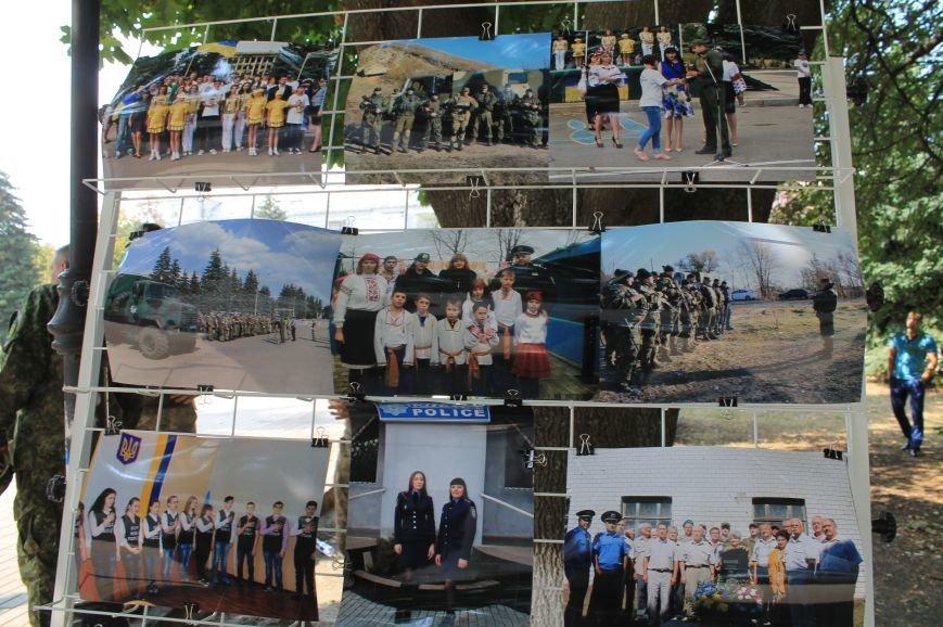 В Бахмуте впервые отметили День Национальной полиции Украины, фото-10
