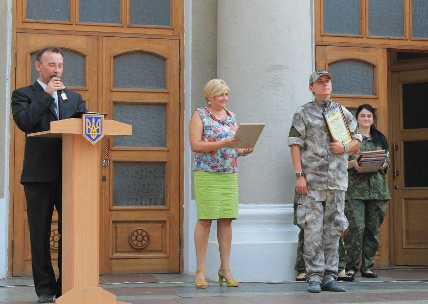 В Бахмуте впервые отметили День Национальной полиции Украины, фото-4