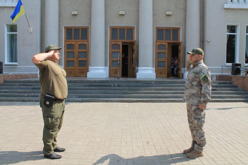 В Бахмуте впервые отметили День Национальной полиции Украины, фото-1