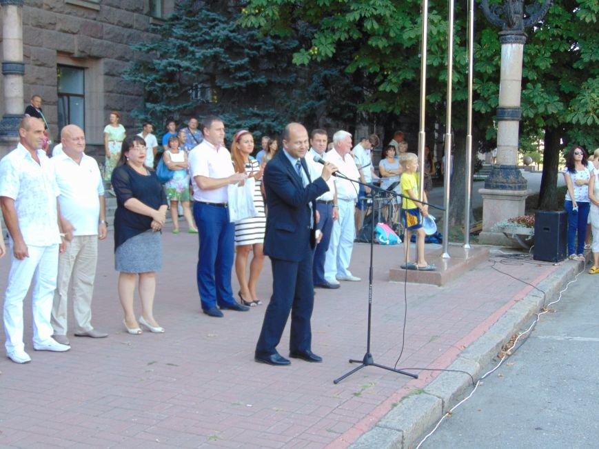 В Николаеве зажгли Олимпийский факел (ФОТО, ВИДЕО), фото-2