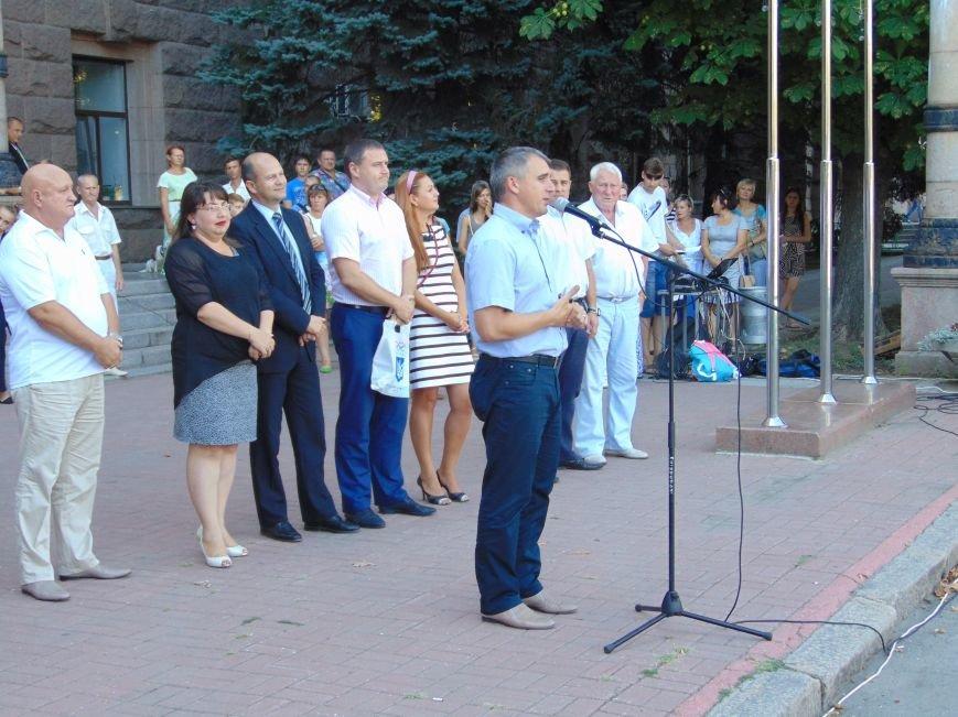 В Николаеве зажгли Олимпийский факел (ФОТО, ВИДЕО), фото-3