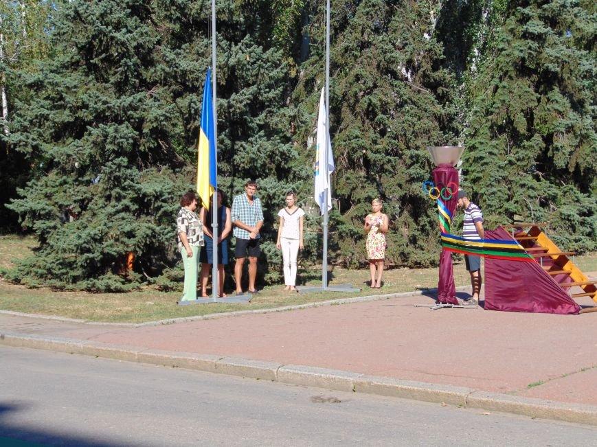 В Николаеве зажгли Олимпийский факел (ФОТО, ВИДЕО), фото-4