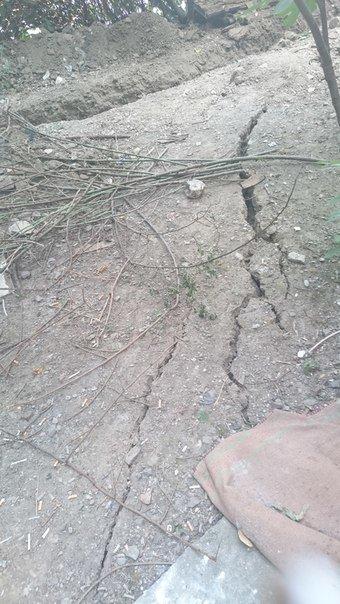 В Ялте строительство стало причиной крупной подвижки грунта и угрозы оползня, фото-10