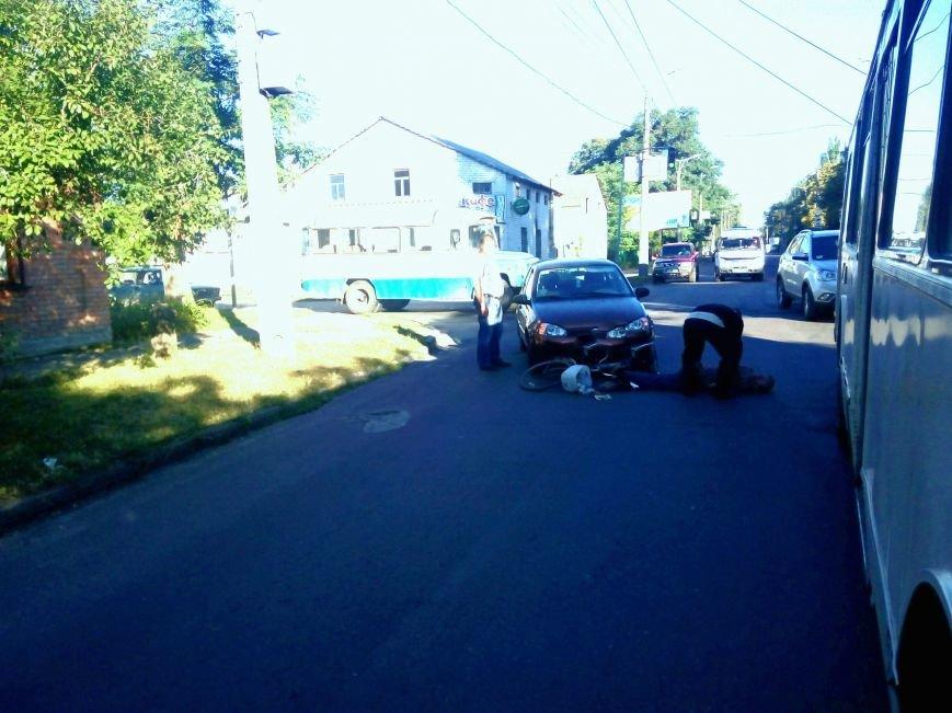 Ужасное ДТП в Кропивницком: автомобиль сбил велосипедиста (ФОТО), фото-1