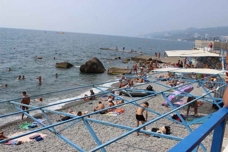 Очередной рейд провели на пляжах пгт Никита, Массандра и в центре, фото-1