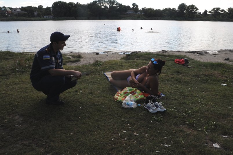 Кропивницкий: спасатели продолжают заботиться о безопасности граждан на водоемах (ФОТО), фото-1
