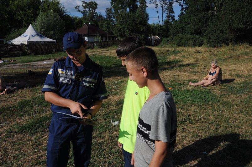 Кропивницкий: спасатели продолжают заботиться о безопасности граждан на водоемах (ФОТО), фото-2