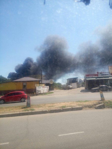 На Котовского в Одессе тушили масштабный пожар (ФОТО), фото-1