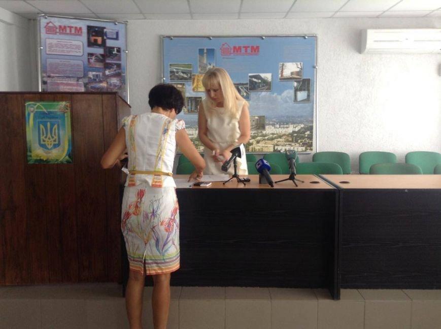 """В  """"Мариупольтеплосети"""" ингнорировали вопросы журналистов (ФОТО, ВИДЕО), фото-4"""