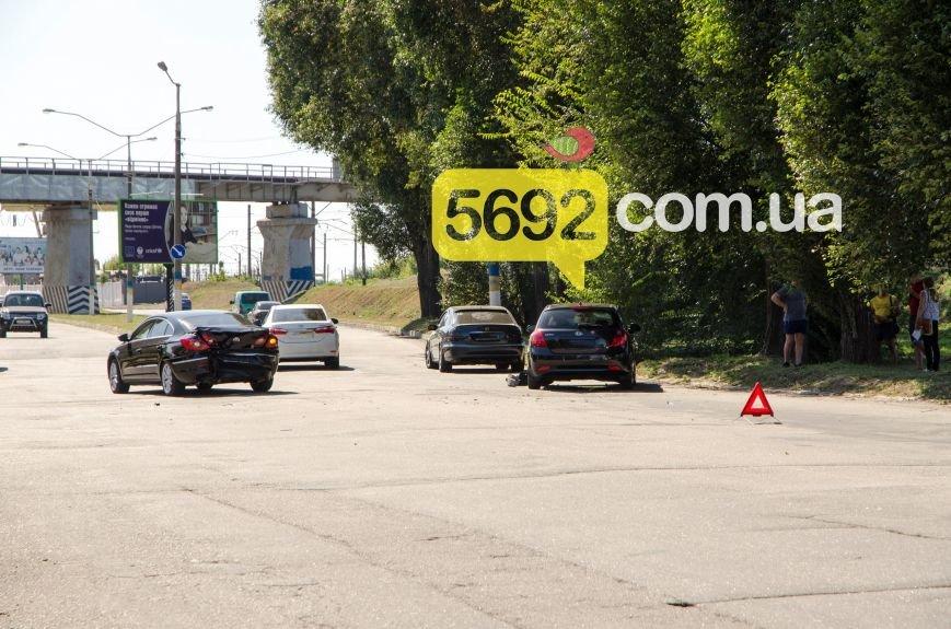 В Каменском на Соцгороде произошло ДТП с пострадавшими, фото-1