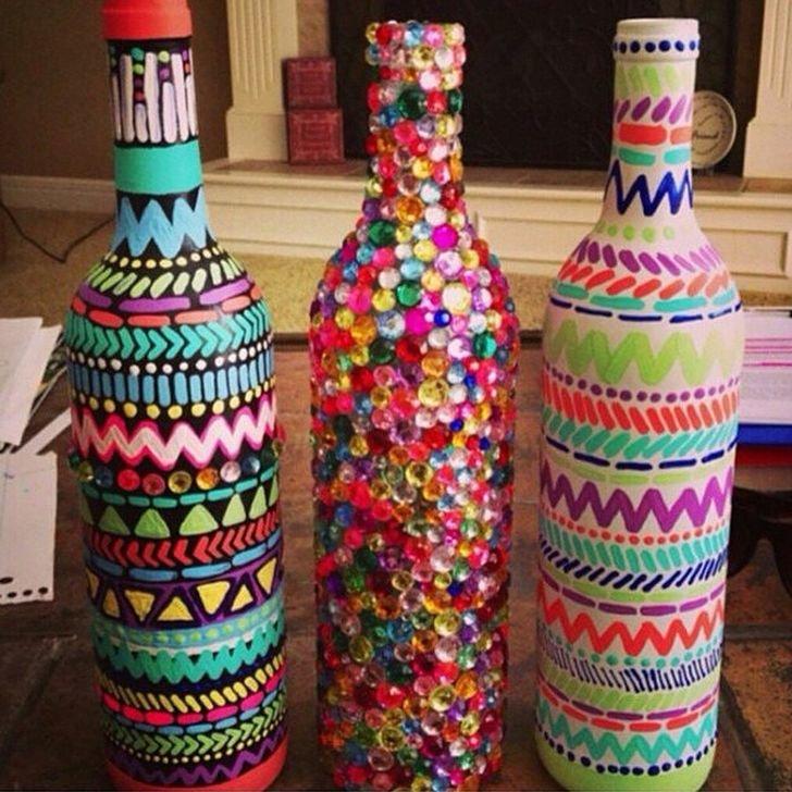 Вторая жизнь бутылок -уроки хенд-мейда, фото-4