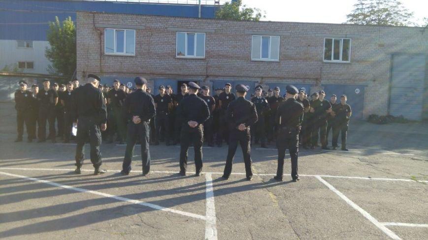 Профессиональный праздник патрульные полицейские Кривого Рога отметили в компании детей (ФОТО), фото-15