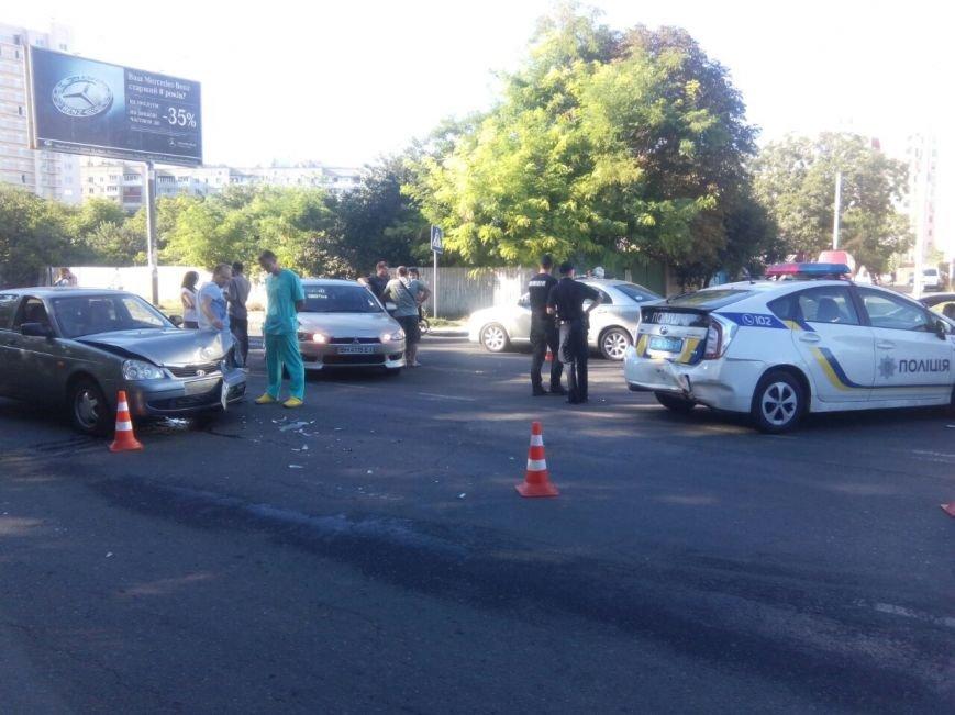 В Одессе полицейские попали в аварию (ФОТО), фото-4