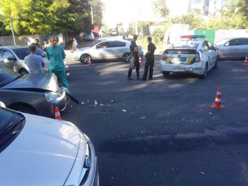 В Одессе полицейские попали в аварию (ФОТО), фото-2