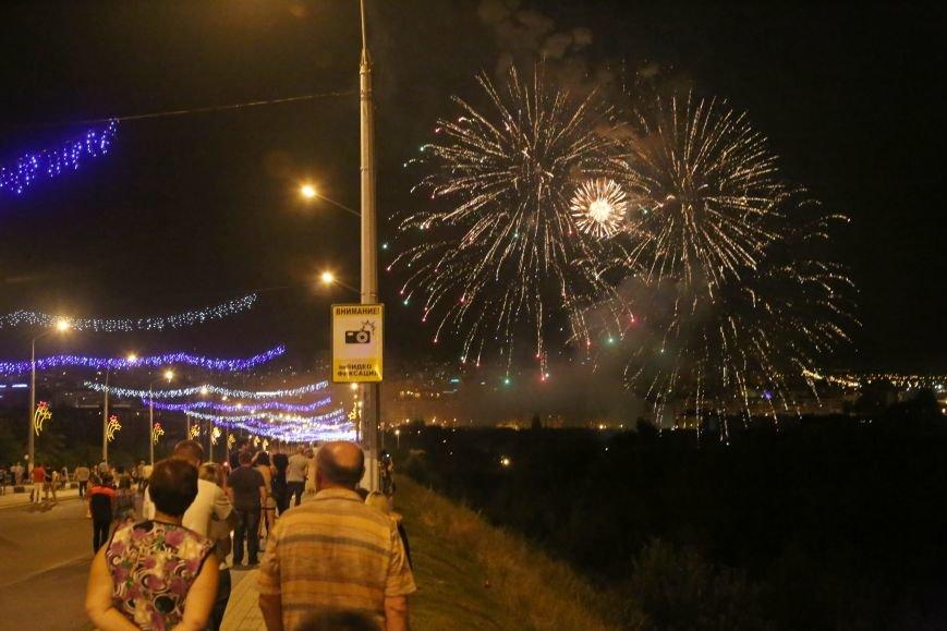 В завершении Дня города белгородцы наблюдали праздничный фейерверк, фото-4