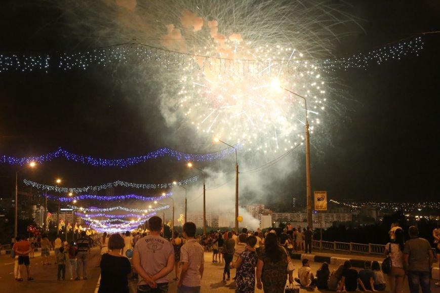 В завершении Дня города белгородцы наблюдали праздничный фейерверк, фото-1